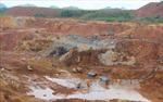 Vĩnh Phúc khoanh định hơn 1.670 khu vực cấm hoạt động khoáng sản