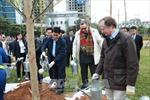 Hà Nội trồng 100 cây xanh chào mừng 100 năm Quốc khánh Phần Lan