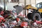 Tây Ninh tiêu hủy gần 584.000 bao thuốc lá ngoại nhập lậu