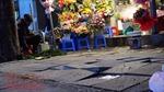 Hàng loạt vỉa hè Hà Nội lát đá bị sụt lún, nứt vỡ