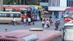 Các bến xe khách Hà Nội lo đối phó ùn tắc khách dịp Tết
