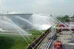 900 người tham gia diễn tập chữa cháy tại Tổng kho xăng dầu Nhà Bè