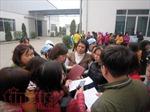 Hải Dương: Gần 1.200 công nhân Công ty TNHH Nam Sinh trở lại làm việc
