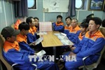 Nghệ An: Cứu hộ tàu cá cùng 10 thuyền viên bị nạn trên biển