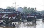 Khôi phục nhịp cầu Long Kiển bị sập, phấn đấu thông xe trước Tết