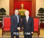 Tổng Bí thư Nguyễn Phú Trọng tiếp Chủ tịch Thượng viện Mexico