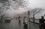 Các khu vực trên cả nước đều có mưa, Bắc Bộ xuất hiện sương mù và rét