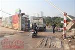 Thanh tra giao thông Tây Hồ phản hồi về tình trạng bụi bẩn trên đường Võ Chí Công