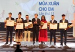 Quỹ Bảo trợ trẻ em Việt Nam tiếp nhận gần 96 tỷ đồng trong chương trình 'Mùa xuân cho em'