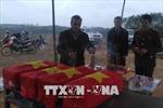 Quảng Trị cất bốc 40 hài cốt liệt sỹ tại bờ sông Thạch Hãn