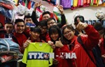 Người dân Thủ đô 'truyền lửa' cho Đội tuyển U23 Việt Nam