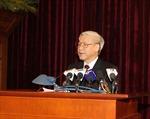 Phát biểu của Tổng Bí thư Nguyễn Phú Trọng bế mạc Hội nghị lần thứ tư BCH Trung ương Đảng khóa XI