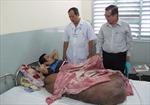 Phẫu thuật cho bệnh nhân có khối u nặng 90 kg