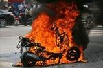 Cháy xe: DN sản xuất không thể đứng ngoài cuộc