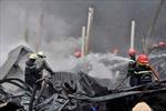 Cháy lớn tại một cơ sở thu mua phế liệu