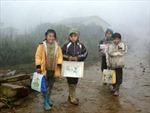 Học sinh miền núi học chung với rét