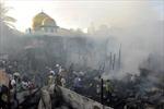 Philipin: Cháy một khu nhà ổ chuột ở Manila