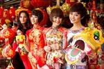 Top 4 Vietnam's Next Top Model 2011 rạng rỡ đón Xuân
