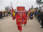 Lễ hội Đền Trần ở Thái Bình với tục rước nước sông Hồng