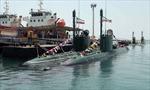 Iran trang bị hai tàu ngầm lớp Ghadir cho hải quân