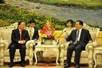 Đồng chí Tô Huy Rứa thăm và làm việc tại Trung Quốc