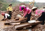 Sập hầm vàng, ba người chết và bị thương