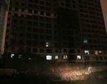 Sập giàn giáo tại công trình cao ốc 34 tầng