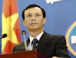 Phản đối Trung Quốc xâm phạm chủ quyền của Việt Nam trên Biển Đông