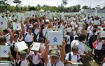 Nicaragoa tặng máy tính xách tay cho hàng nghìn học sinh