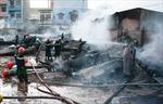 Cháy rụi kho hàng rộng hơn 1.000 m2