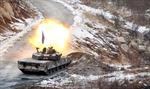 Hàn Quốc tập trận bắn đạn thật gần biên giới với Triều Tiên