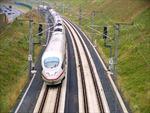 Đường sắt cao tốc Trung Quốc sụt lún sau mưa lớn