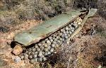 Mua phế liệu, phát hiện 64 trái bom bi