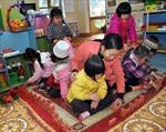 Phổ cập giáo dục mầm non cho trẻ 5 tuổi: Sau 2 năm, mạng lưới trường mầm non tăng mạnh