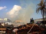 Hỏa hoạn thiêu rụi một xưởng gỗ