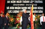 ĐH GTVT đón nhận danh hiệu Anh hùng LLVT nhân dân