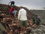 Gió xoáy tốc mái 70 căn nhà ở Long An