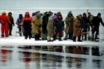 Giải cứu gần 700 ngư dân Nga trên tảng băng trôi