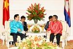Thủ tướng Nguyễn Tấn Dũng gặp Thủ tướng Campuchia Hun Sen