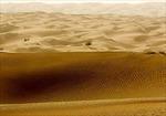 Dấu tích thị trấn cổ ở sa mạc lớn nhất Trung Quốc