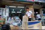 Hàng điện máy chống nóng vào mùa