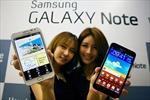Samsung vượt xa Apple trên thị trường smartphone