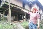 Nguy cơ sạt lở cao ở khu tái định cư Phiêng Sa