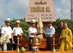 Trao tặng pho tượng Hưng đạo Đại Vương Trần Quốc Tuấn cho Đảo Trường Sa