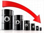 Giá dầu mỏ giảm mạnh