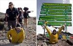 Mất cả hai chân vẫn chinh phục đỉnh Kilimanjaro