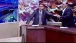 Nghị sĩ rút súng đánh nhau khi tranh luận trên truyền hình