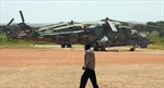 Sudan rơi trực thăng quân sự