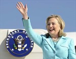 Ngoại trưởng Hillary Clinton thăm nhiều nước nhất