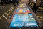 Argentina thu 536 kg côcain trong một máy hút bùn
